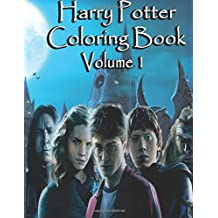 Harry Potter Coloring Book  Volume 1: Harry Potter Magical Creatures Coloring Book