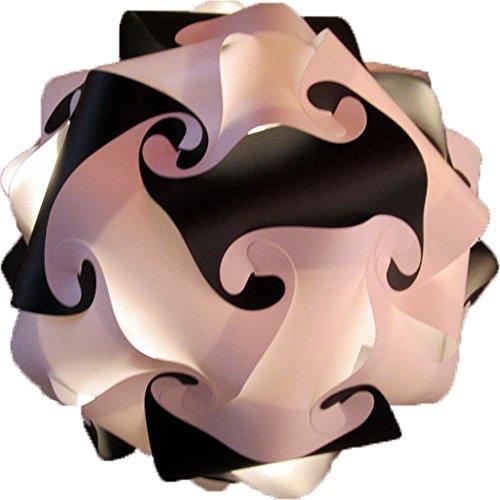 Puzzle lámpara DIY bola lámpara de pie Iluminación de Deco ...