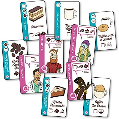 Looney Labs Just Coffee Expansion for Just Desserts: Toys & Games