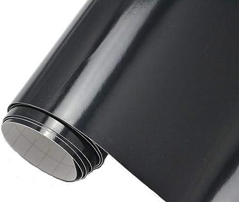 Neoxxim 4 60 M2 Premium Auto Folie GlÄnzend Schwarz Glanz 100 X 150 Cm Blasenfrei Mit Luftkanälen Ca 0 15mm Dick Folierung Folieren Bekleben Küche Haushalt