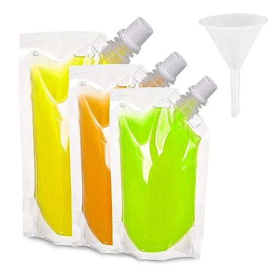 Compra Boerni Paquete de 30 frascos de plástico para Bebidas ...