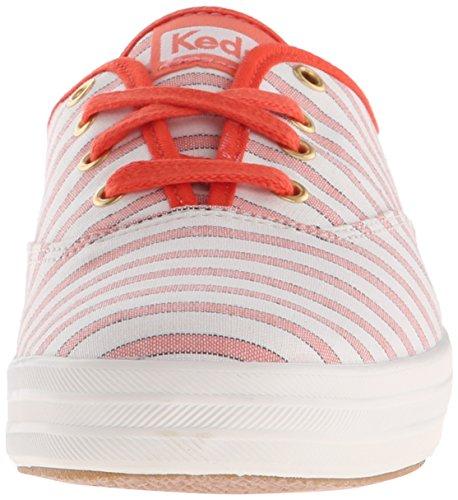 blanco Mujer naranja Stripe Zapatos Keds Coral Ch Cabana Uxw0XxqfP