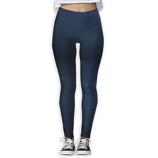 1449c23cf6be4 Amazon.com: Galaxy Earth Universe 3D Printed Custom Women's Big Girl Sports  Full-Length 3D Printed Yoga Leggings Capris Pants: Clothing