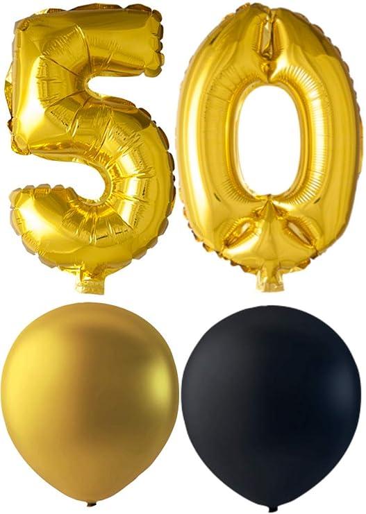 Increíble juego de decoración para fiesta de 50 cumpleaños ...
