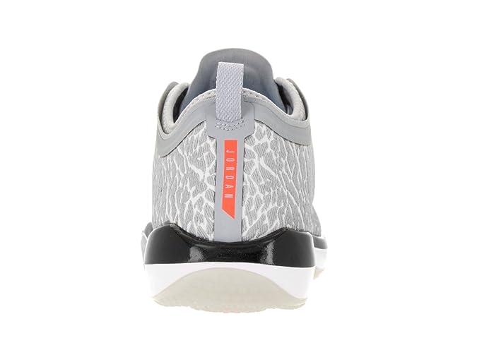 2033a383f30 Nike Jordan Men s Jordan Trainer 1 Low White Infrared 23 Wolf Grey Training  Shoe 8 Men US  Amazon.ca  Sports   Outdoors