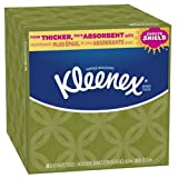 Kleenex Facial Upright White, 80 Count