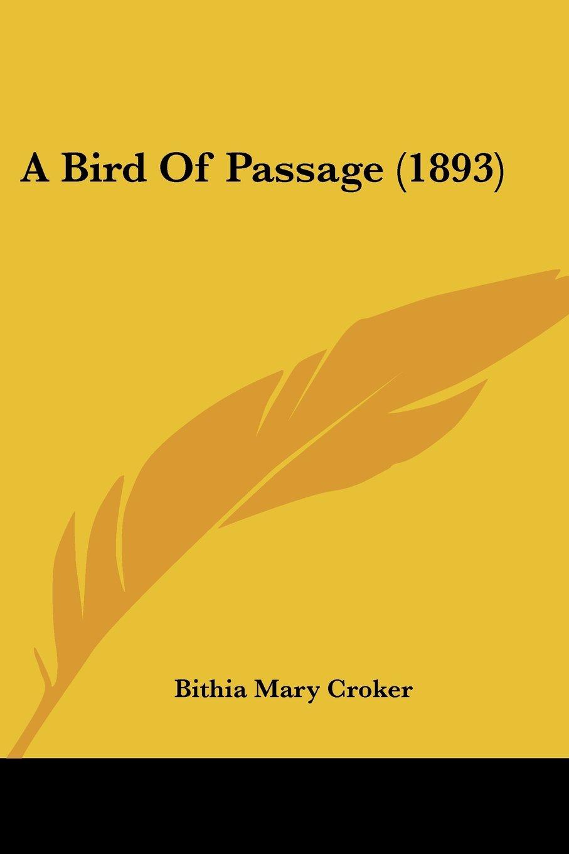 Download A Bird Of Passage (1893) pdf