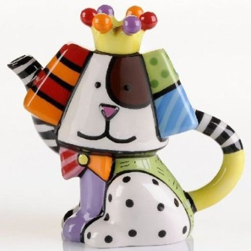 Romero Britto Mini Dog Teapot