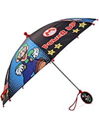 Little Boys Mario And Luigi Character Rainwear Umbrella