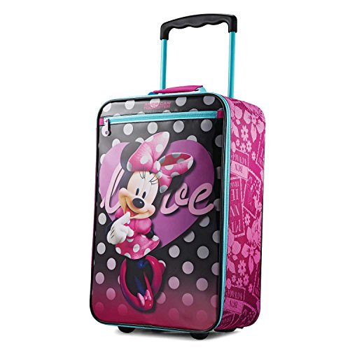 American Tourister Kids Softside 18 Upright, Disney Minnie Mouse