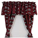 NCAA Cotton Sateen Curtain Valance NCAA Team: Mississippi State