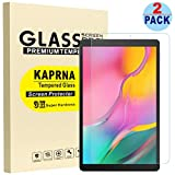 KAPRNA Screen Protector for Samsung Galaxy Tab A 10.1 inch 2019, Tempered Glass Film for Samsung Galaxy Tab A 10.1 (2019) SM-T510/SM-T515 Tablet (High Definition),2-Pack