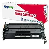 26A Compatible Toner Cartridge, Kingway CF226A Replacement for HP LaserJet Pro M402n M402dn M402dw MFP M426fdw M426fdn Printer (1 Pack, Black)