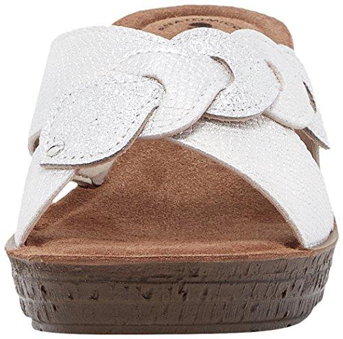 Mules Blanc GM000019 Bianco In Femme 001 Blu 7xEZxqF0