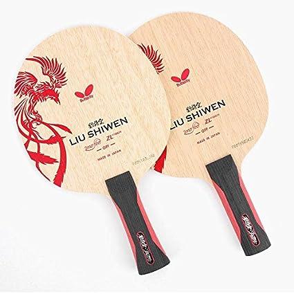 Amazon Com 1pcs Butterfly Liu Shiwen Blade Shakehand St Fl Table