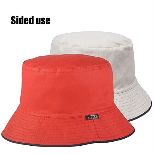 Outdoor Research Women and men Sombriolet Bucket Hat UPF 50+ Maximum Sun Protection Double-sided outdoor hat Cotton and Breathable (Red)