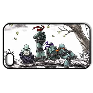 TMNT Teenage Mutant Ninja Turtles iPhone 4 4S Case Hard Plastic iPhone 4 4S Back Cover Case