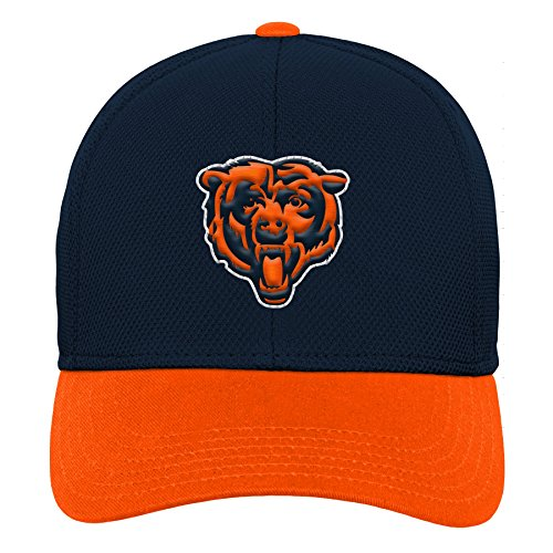 Outerstuff NFL NFL Chicago Bears Youth Boys Velocity Structured Snap Hat Deep Obsidian, Youth One Size