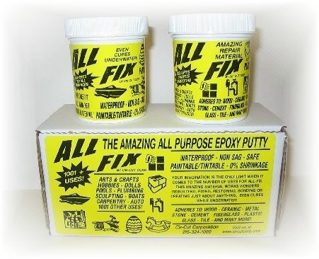 all-fix-epoxy-putty-kit-12-ounce-set-arts-crafts-jewelry-design-sculpting-moldeling-underwater-epoxy