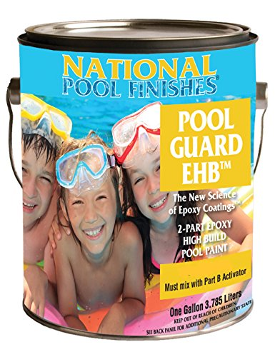 National Pool Paint 2 Gallon Kit EHB Epoxy Paint (Water Base Pool Paint)