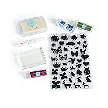 Martha Stewart Glitter Stempel Starter-Set: Amazon.de: Küche & Haushalt