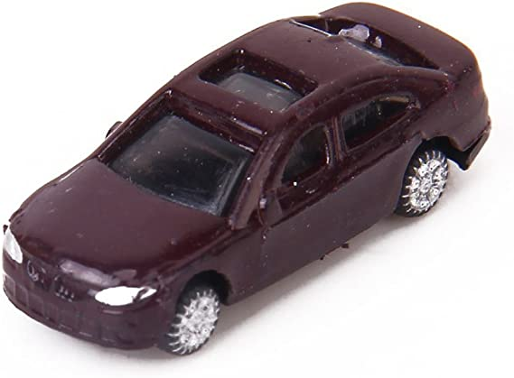 yotijar 50pz Modello Treni Scala N Dipinte Automodelli Auto Layout Scenery 1:150