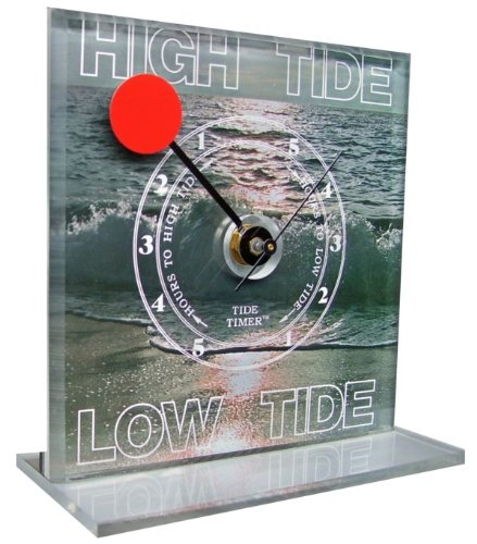 Seascape Tide Timer Clock