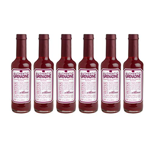- Stirrings Authentic Natural Grenadine Cocktail Mixer - 12 ounce bottles | Pack of (6)