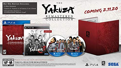 51Vv5lujquL - Yakuza Remastered Collection - Day 1 Edition - PlayStation 4