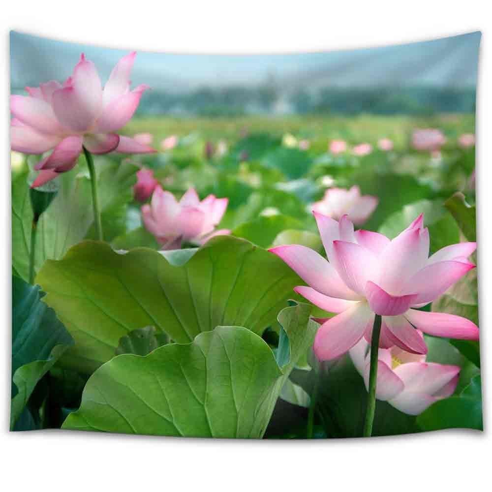 Lotus Flower Blossom Fabric Wall Tapestry Wall26