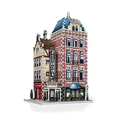 Wrebbit W3d 501 Puzzle 3d Urbania Hotel 295 Pezzi