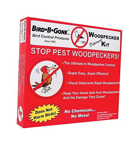 Bird B Gone Woodpecker Deterrent Kit