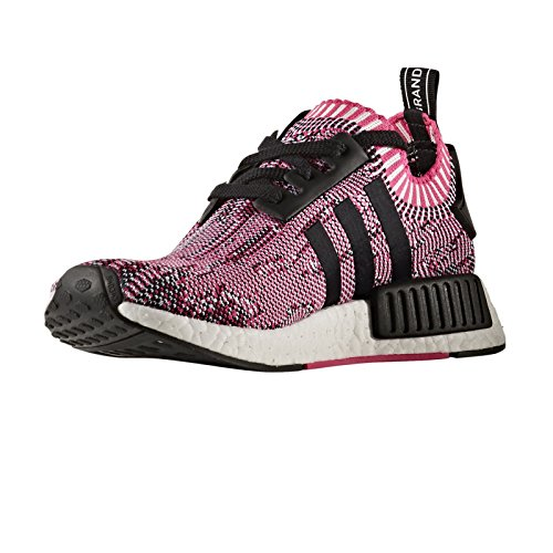 1dc22a6fcf16f NMD R1 Primeknit Womens in Shock Pink Core Black by Adidas