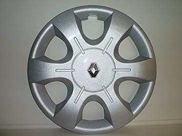 Juego de Tapacubos 4 Tapacubos Diseño Renault Traffic r 16 () Logo Cromado: Amazon.es: Coche y moto