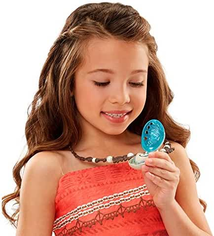 Disney's Moana's - MAGICAL NECKLACE - Discover the Heart of Te Fiti! Moana's Necklace Magically Lights Up