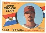 2009 Topps Heritage # (RC) 540 Clay Zavada Arizona Diamondbacks Mint Condition - Shipped In Protective Screwdown Display Case!