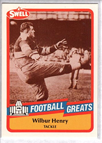 - Football NFL 1989 Swell Greats #6 Fats Henry NM-MT