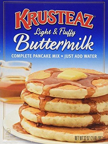 Krusteaz, Buttermilk Pancake Mix, 32oz Box (Pack of 2)