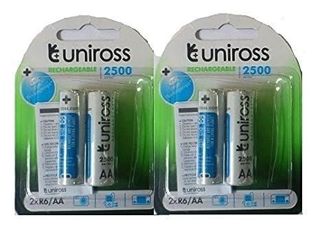 c6c2e03e01c Buy Uniross Ni-MH AA Rechargeable Battery 2100 Mah - Set of 2 Combo ...