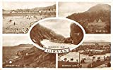 Girvan Scotland scenic views landmarks antique pc Z25746