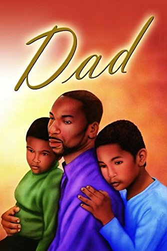 Office Products : Dad: African American Father's Day Greeting Card with Envelope (7x5 inches - Glossy Finish)