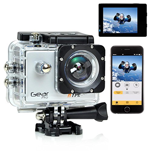 Gear Pro Sports Action 4K Hype Cam - Ultra HD Wi-Fi Action C
