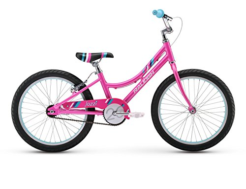 Raleigh Bikes Girls Jazzi 20 Bike, One Size, Pink