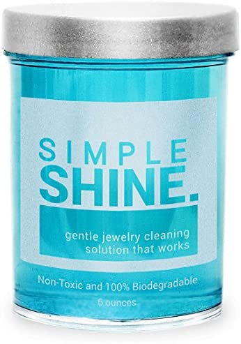 Amazon Com Gentle Jewelry Cleaner Solution Gold Silver Fine Fashion Jewelry Cleaning Ammonia Free Clean Jewelry