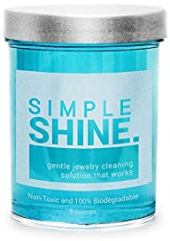 Gentle Jewelry Cleaner Solution | Gold, Silver, Fine & Fashion Jewelry Cleaning | Ammonia Free…