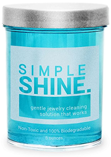 Gentle Jewelry Cleaner Solution | Gold, Silver, Fine & Fashion Jewelry Cleaning | Ammonia Free Clean from Simple Shine.