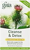 Gaia Herbs Cleanse & Detox Tea, 20 Bags (Pack of 2)