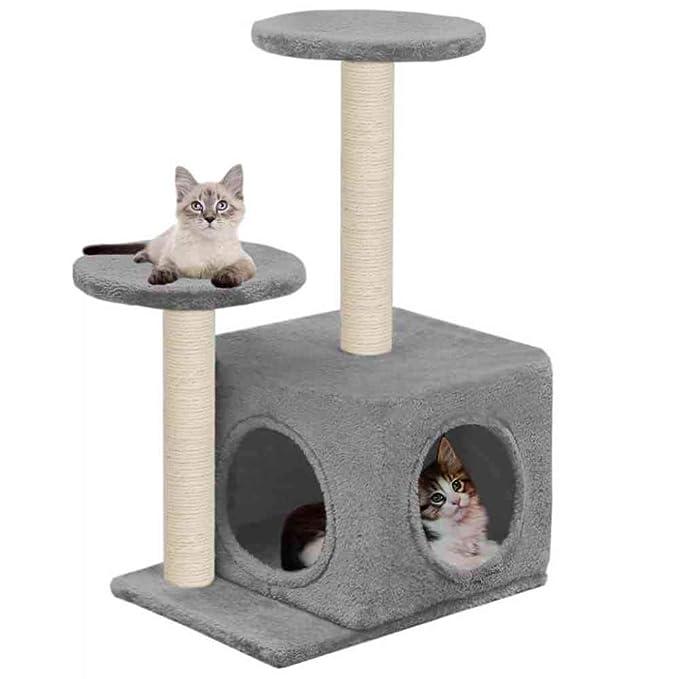 Árbol Rascador Para Gatos Árbol Del Gato Con Postes Rascadores De ...
