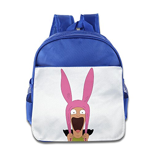 Lovely Baby Bob's Burgers Boys And Girls RoyalBlue School Bagpack For 1-6 Years Old