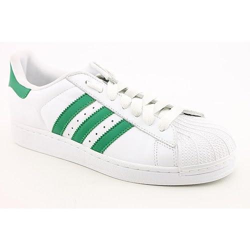 big sale c6491 f5b71 Adidas Superstar II Herren Leder Turnschuhe Schuhe Größe ...